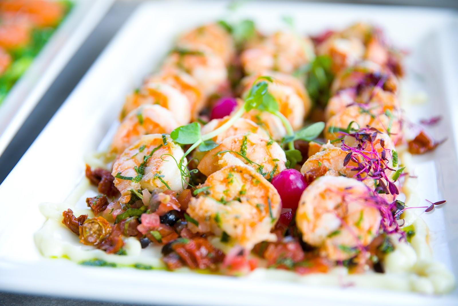 shrimp dish on a plate