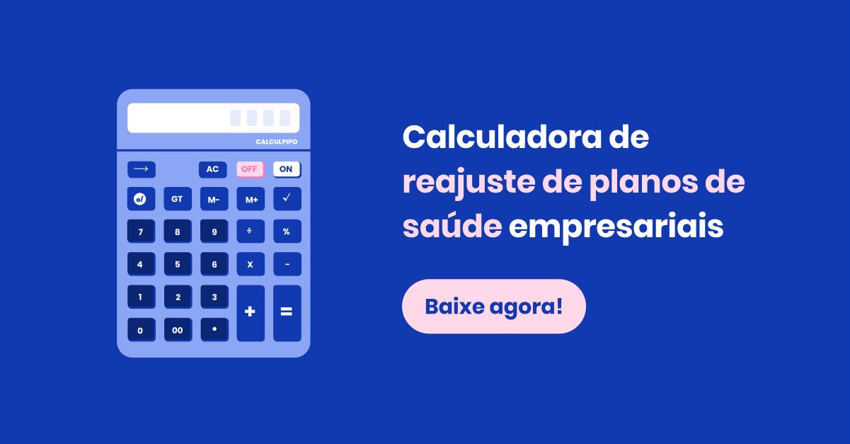 Calculadora de reajuste de planos de saúde empresariais