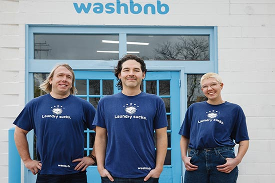 Invest in washbnb, because pandemics and laundry suck.