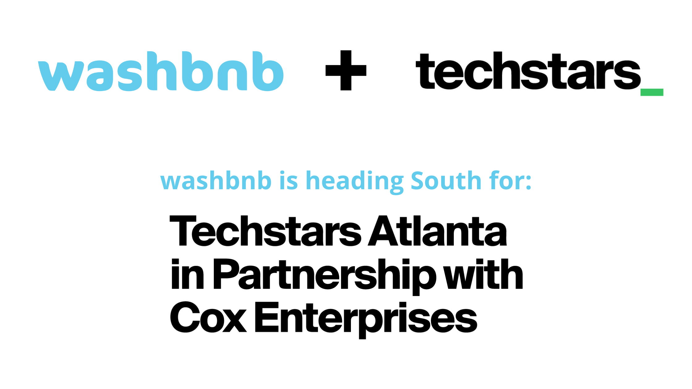 washbnb, techstars Atlanta, and Dave Payne join forces to eliminate laundry and change the world