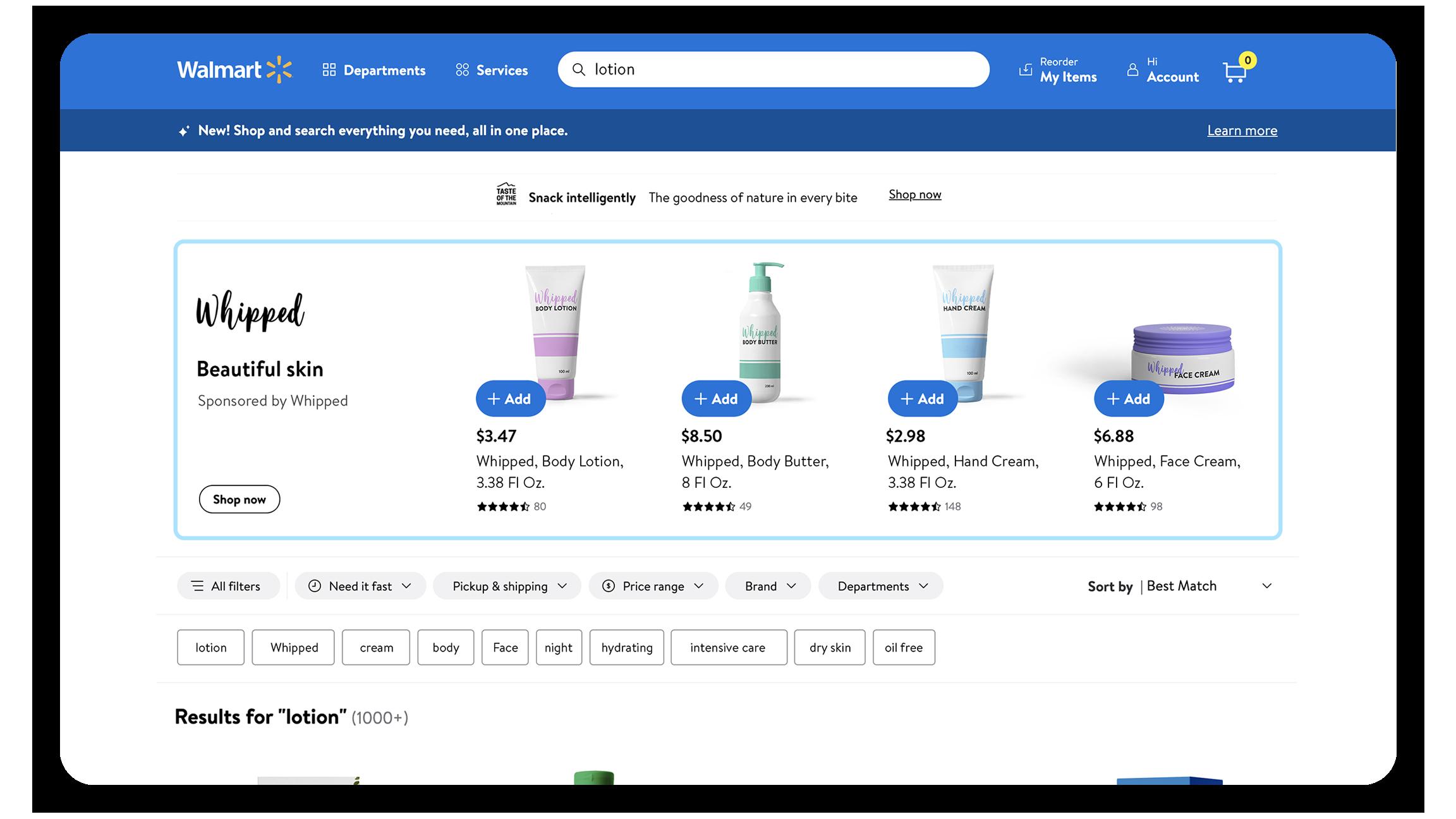 Walmart Connect Search Brand Amplifier - Pacvue