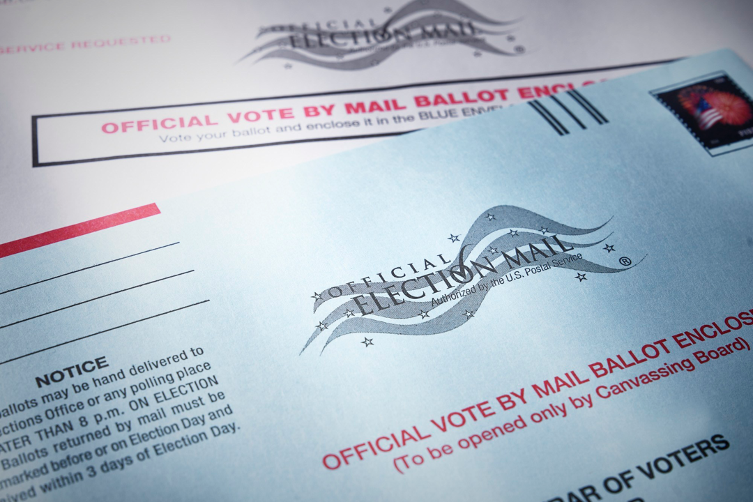 Mail Ballot for Presidential Election 2020