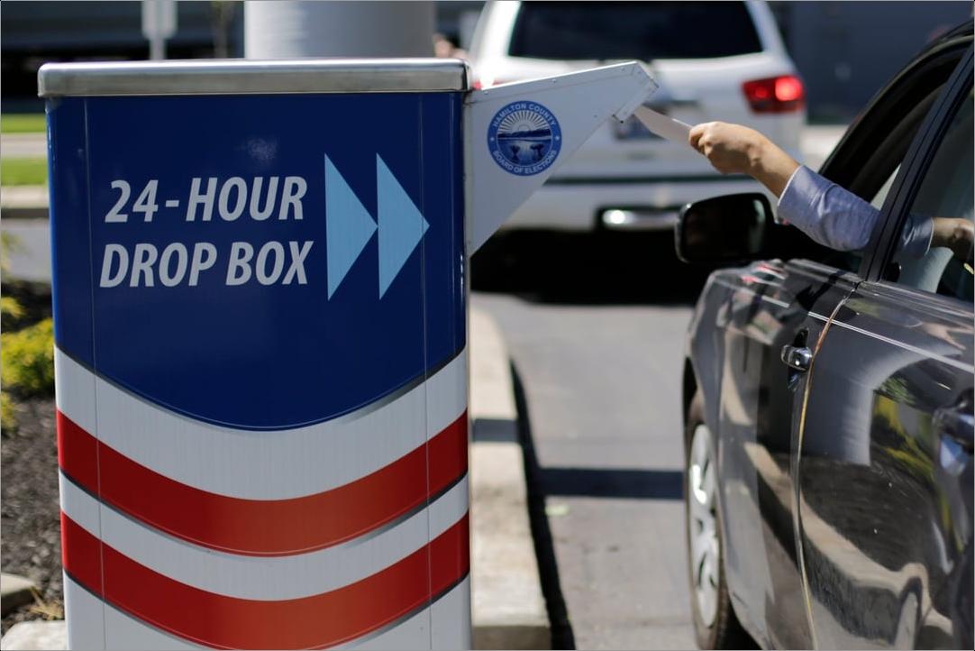 Ohio Ballot Drop Box