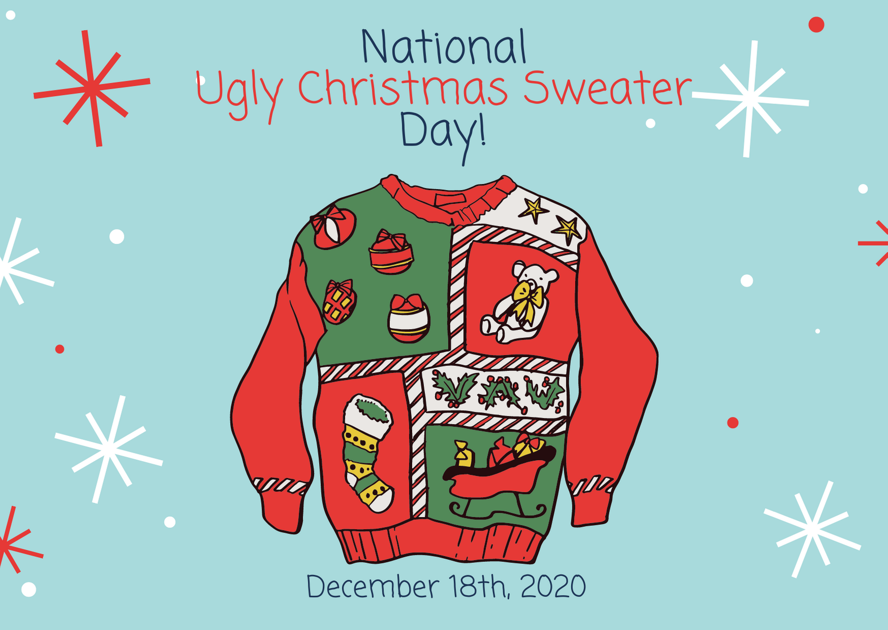 National Ugly Christmas Sweater Day 2020