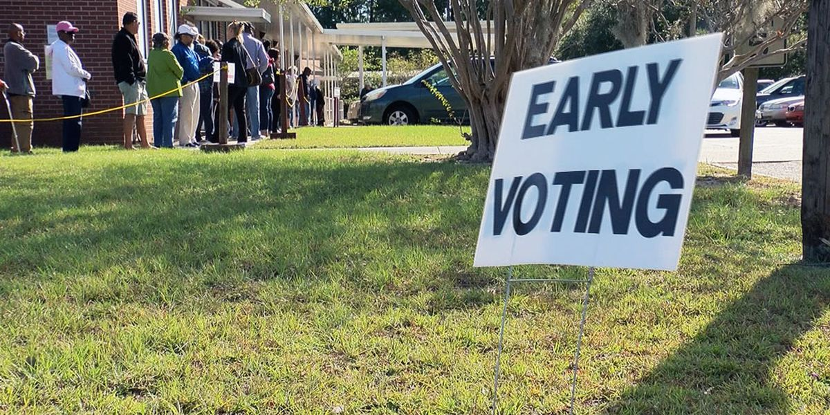 Georgia Early Voting Numbers