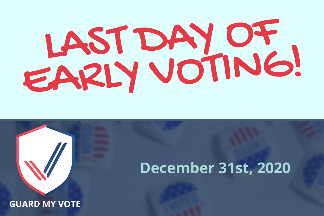 GA Early Voting Ends Today