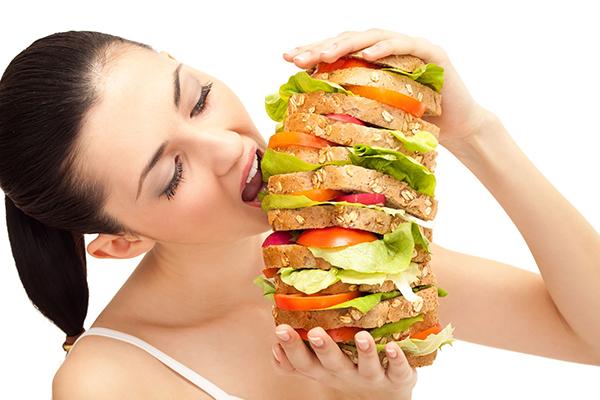 Mẹ bầu có thể thèm ăn hơn bình thường