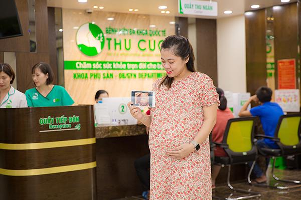 Bệnh viện ĐKQT Thu Cúc cung cấp dịch vụ siêu âm thai 5D cho mẹ bầu