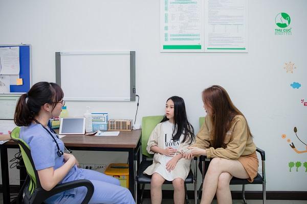 Khám sức khỏe cho trẻ từ 6 đến dưới 18 tuổi tại Thu Cúc