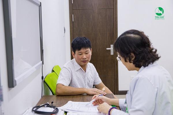 Khám định kỳ tại bệnh viện Thu Cúc