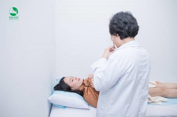 Sau khi thăm khám bác sĩ sẽ có chỉ định cụ thể, phù hợp cho mẹ bầu