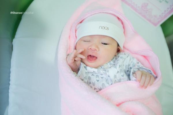 Khoa Phụ sản - Bệnh viện Thu Cúc là nơi chào đón hàng ngàn em bé trong và ngoài nước.