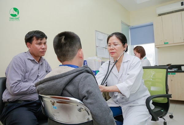 Khám và điều trị bệnh quai bị hiệu quả, ngăn ngừa biến chứng vô sinh cho con tại Chuyên khoa Nhi Hệ thống Y tế Thu CúcB