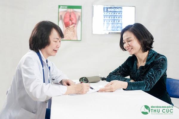 Tầm soát ung thư vú ở bệnh viện Thu Cúc