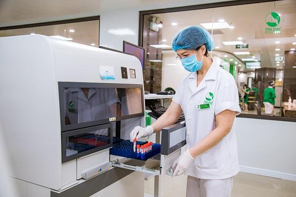 xét nghiệm tiểu đường ở Thu Cúc