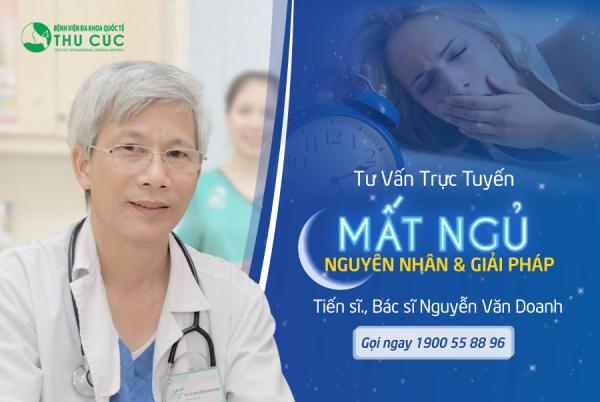 Bệnh viện ĐKQT Thu Cúc khám và điều trị rối loạn tiền đình với chuyên gia thần kinh TS, BS Nguyễn Văn Doanh - Trưởng khoa Khám bệnh của Bệnh viện ĐKQT Thu Cúc