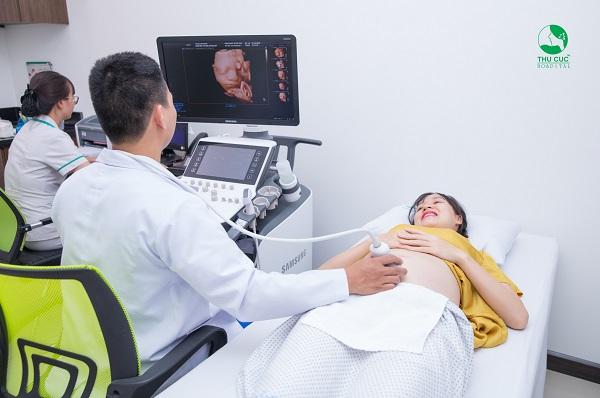 Khám thai 32 tuần tại BV ĐKQT Thu Cúc