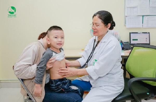 Điều trị bệnh giời leo cho trẻ em