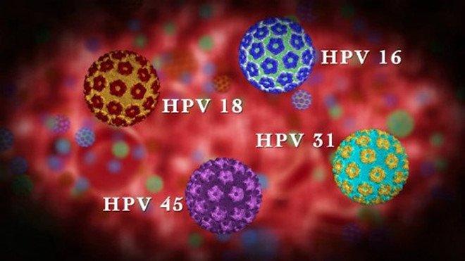 HPV type 16 và 18 chiếm 70% các ca mắc ung thư cổ tử cung.