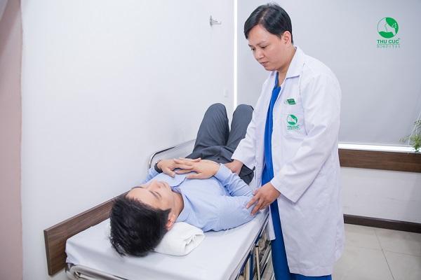 Khi có triệu chứng đau thượng vị, người bệnh cần đi khám càng sớm càng tốt