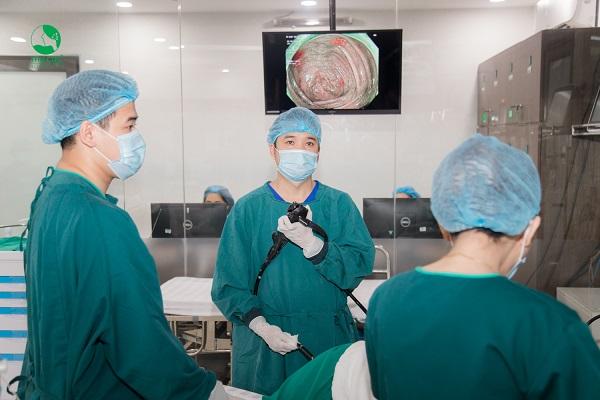 Nội soi là một trong những phương pháp hữu hiệu để chẩn đoán tình trạng đi nặng ra máu