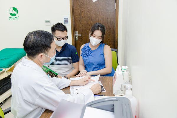 Bệnh viện ĐKQT Thu Cúc - người đồng hành đáng tin cậy cùa các mẹ bầu.