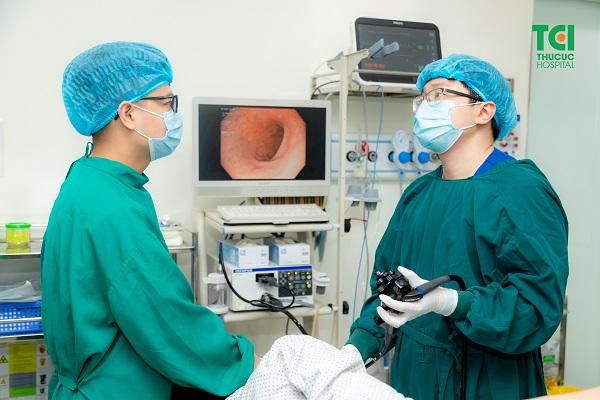 Giãn tĩnh mạch thực quản được chẩn đoán chính xác qua phương pháp nội soi thực quản