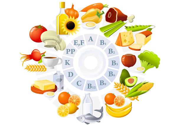 Các loại vitamin góp phần cải thiện tình trạng gan nhiễm mỡ, hạn chế tổn thương gan