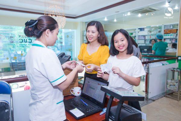 thông tuyến BHYT trong khám chữa bệnh tại bệnh viện Thu Cúc