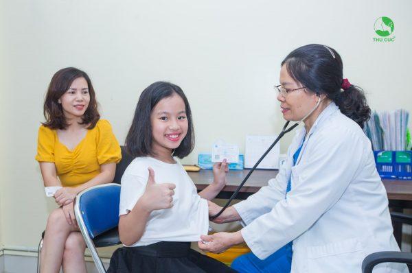 Vì sao nên khám bảo hiểm y tế cho trẻ tại Thu Cúc