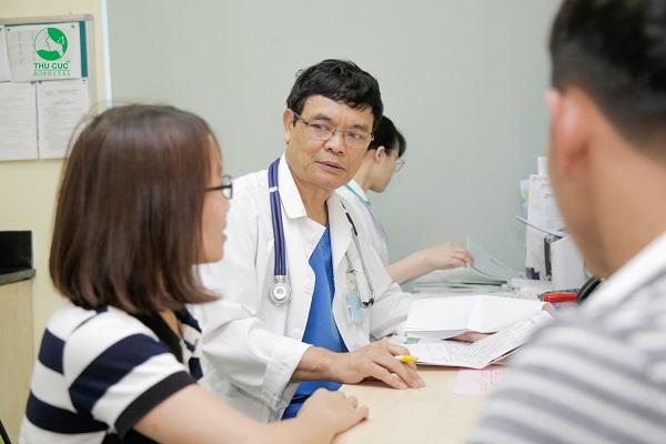 Điều trị xơ gan mất bù tại Bệnh viện ĐKQT Thu Cúc
