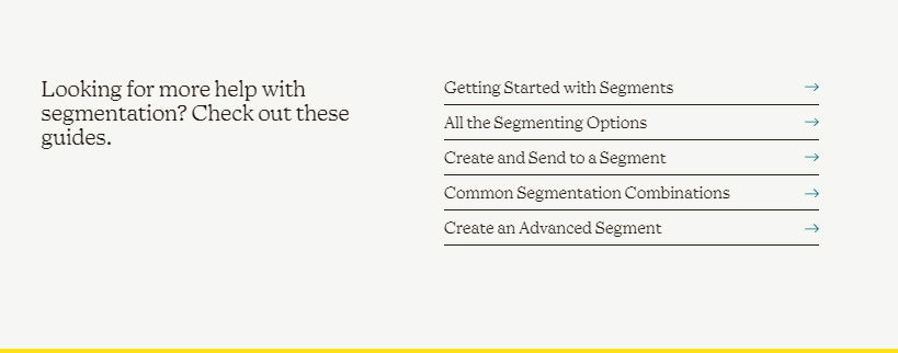 SaaS click-through page example