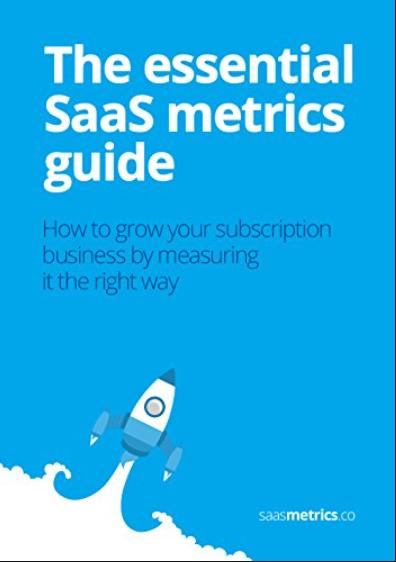 list of books on SaaS metrics