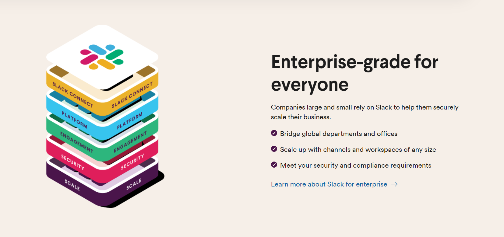 Slack web design examples