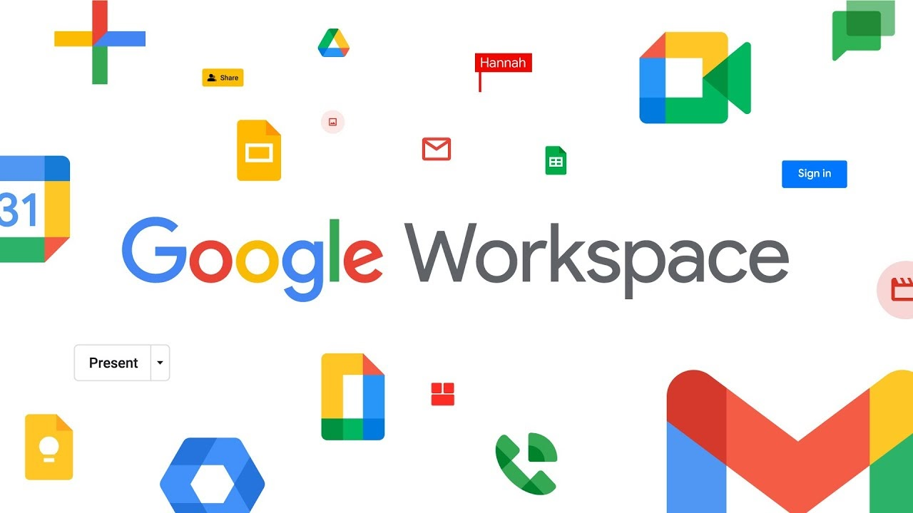 Google Workspace as an example of a cloud-based product