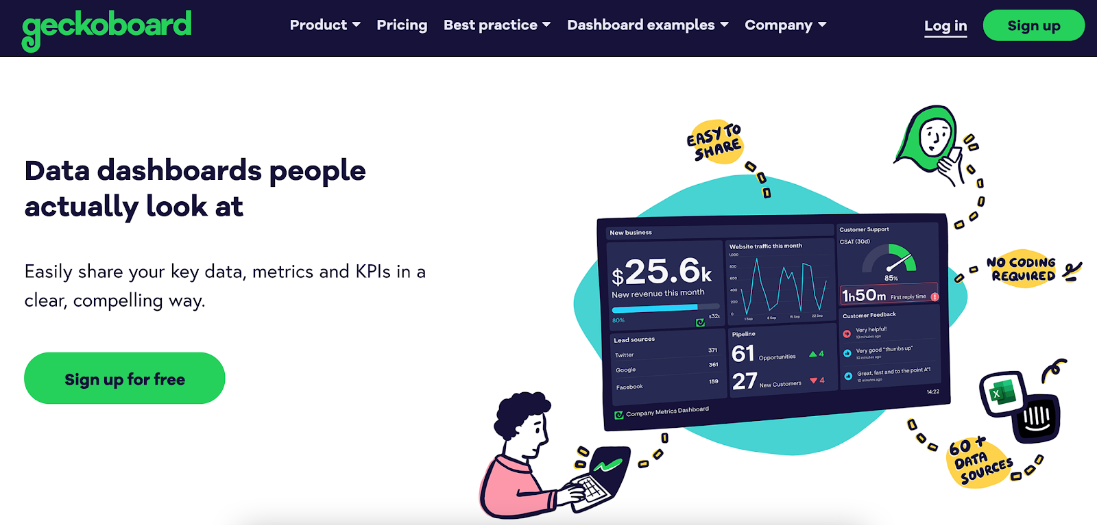 How to design a dashboard?