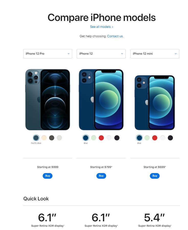 hierarchy in Apple's design