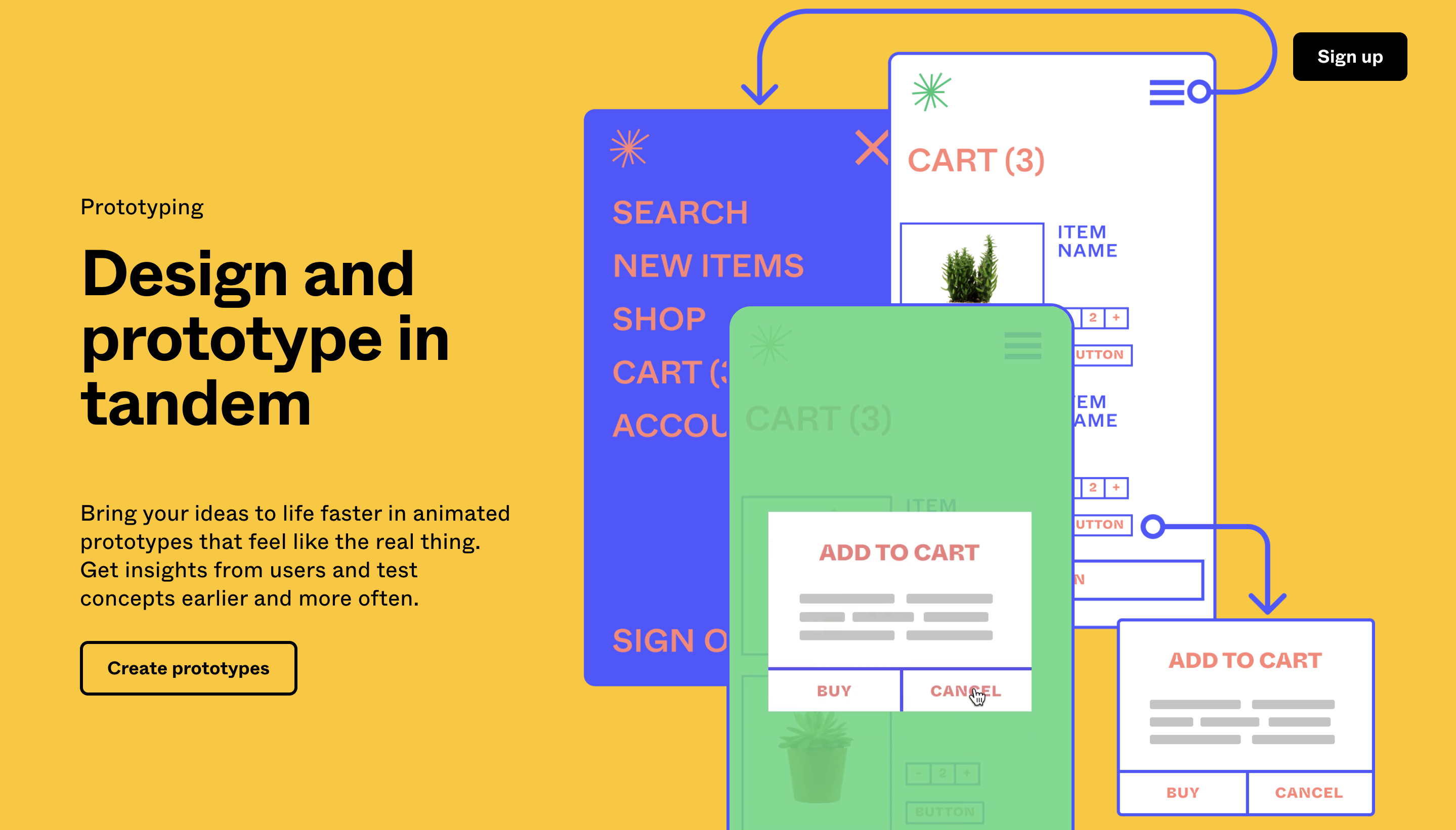 examples of repetition in website design