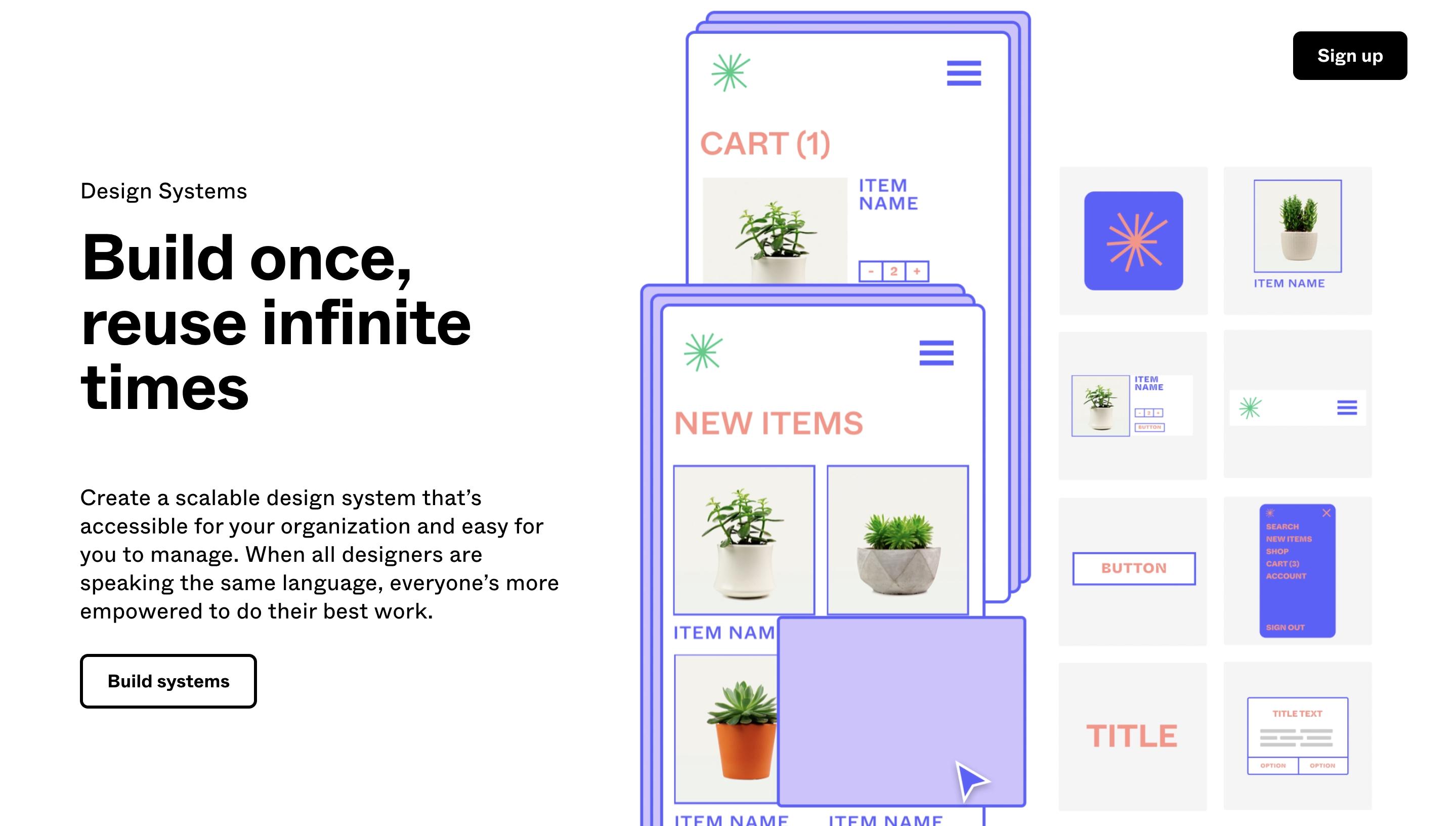 repetition in Figma's web design