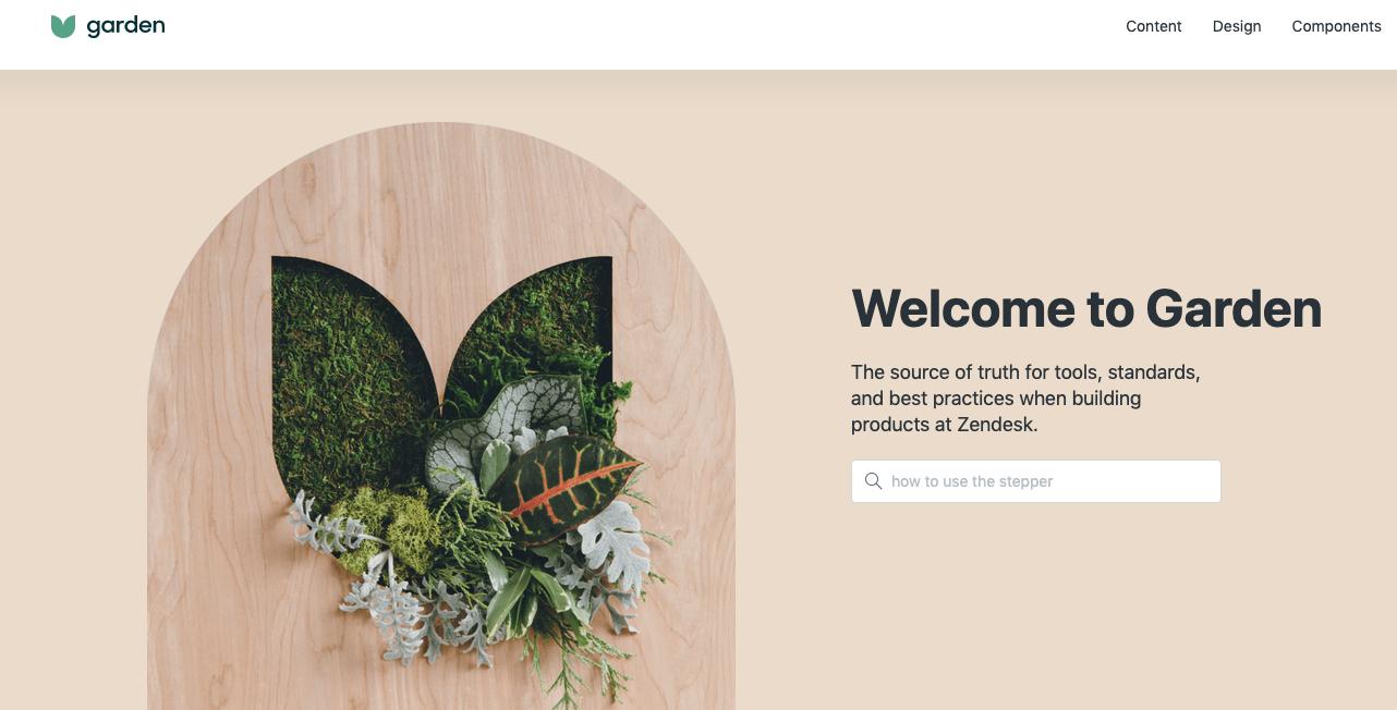 zendesk design system image