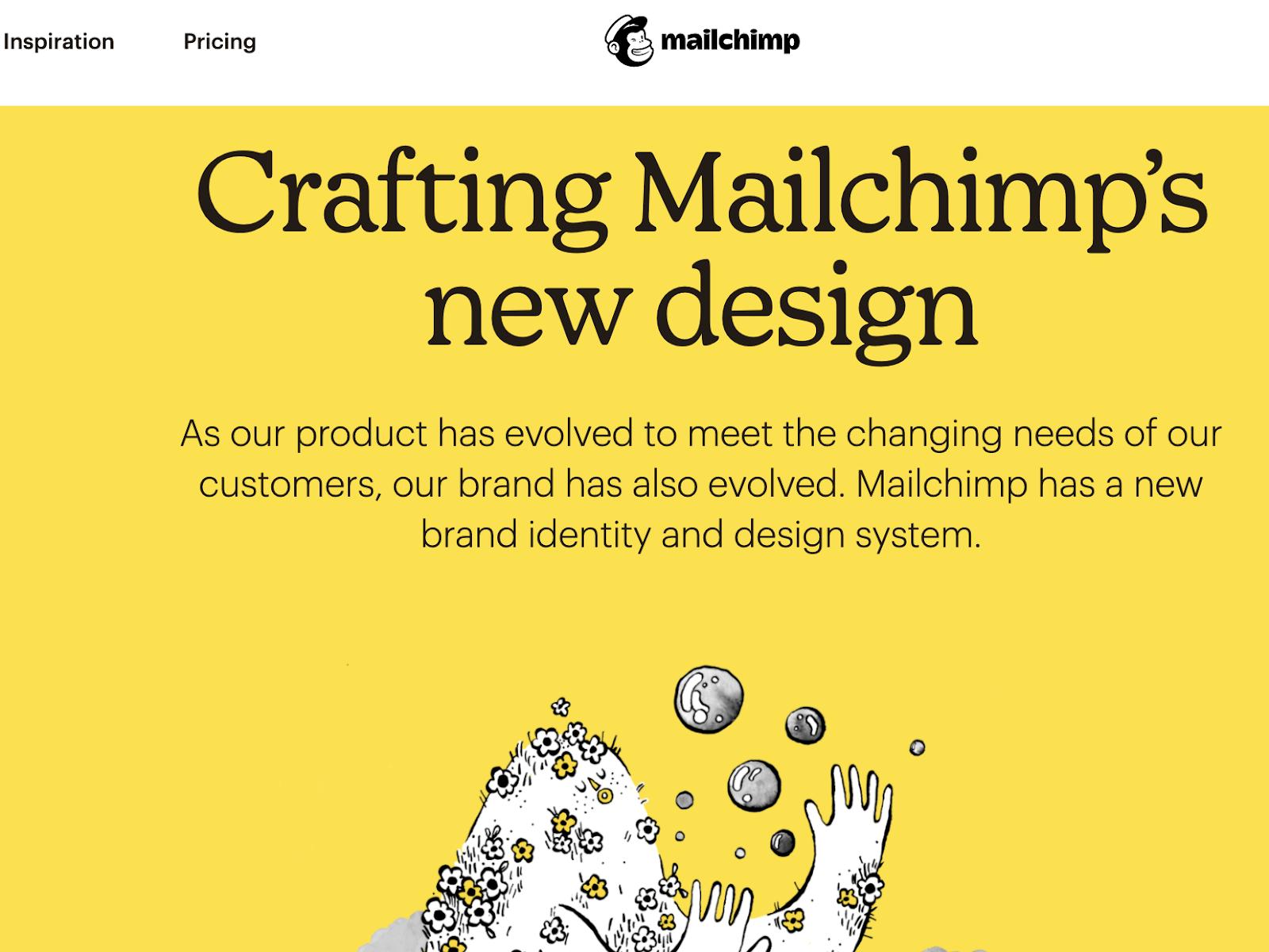 mailchimp design system image