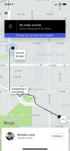 Uber: engaging UX design