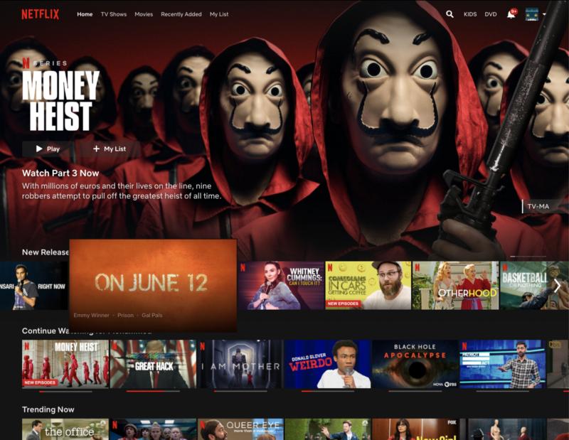 Human-centered design of Netflix