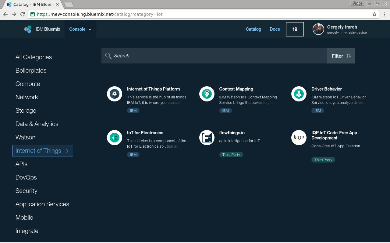 the use of design thinking for IBM's Bluemix
