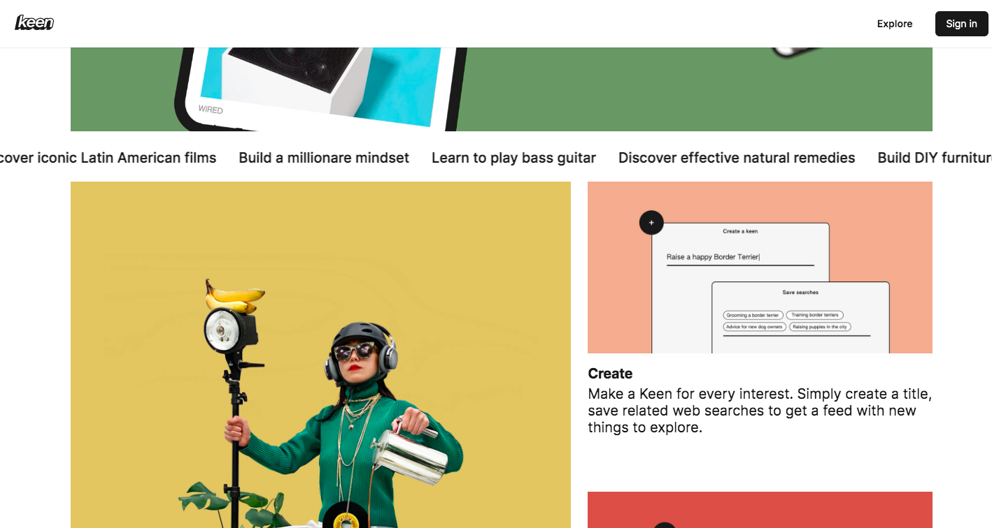 Layout developed with Angular Material