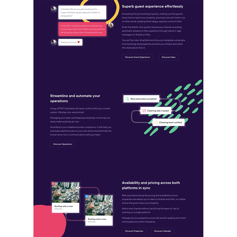 zig-zag layout developed with Angular Material