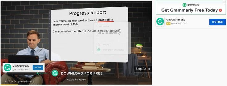 example of remarketing for SaaS software