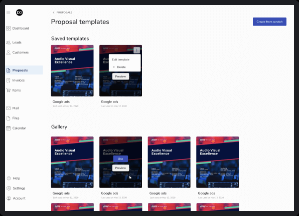 SaaS client experience platform design