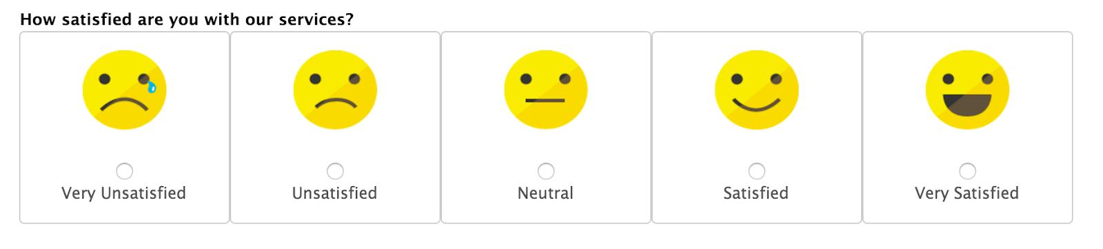 Customer satisfaction KPI example