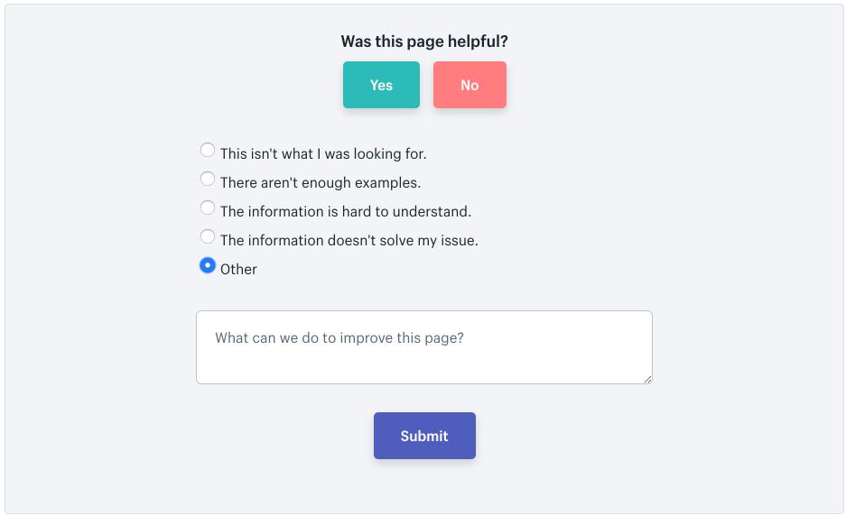 how Shopify turns qualitative comments into quantitative data